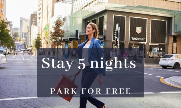 Stay 5 nights and Park for FREE